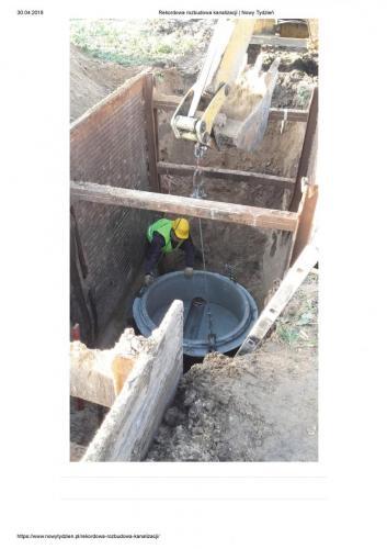 Rekordowa rozbudowa kanalizacji   Nowy Tydzien Strona 2