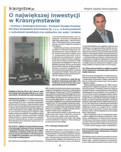 krasnystaw.pl nr 12 pazdziernik 2017 Strona 1